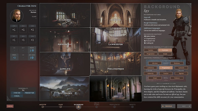 Trasfondo Análisis de Solasta Crown of Magister para PC