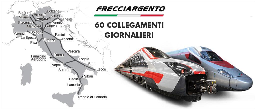 Frecciargento train in italy