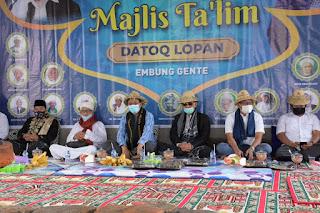 Gubernur NTB Dinobatkan Sebagai Keluarga Besar Datoq Lopan