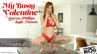 NF Busty – Lauren Phillips: My Busty Valentine (2020/HD)