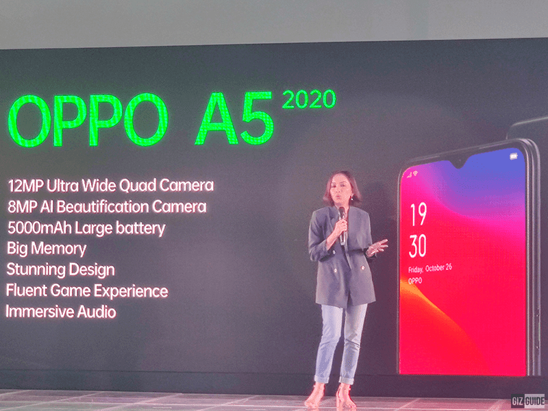 OPPO to release A5 2020 in the Philippines in October