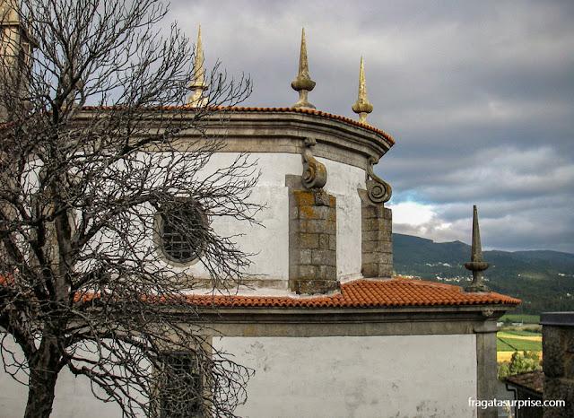Convento nos arredores de Tui, Caminho de Santiago