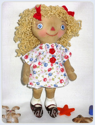 Чердачные  куклы,  Реггеди ,ручная работа