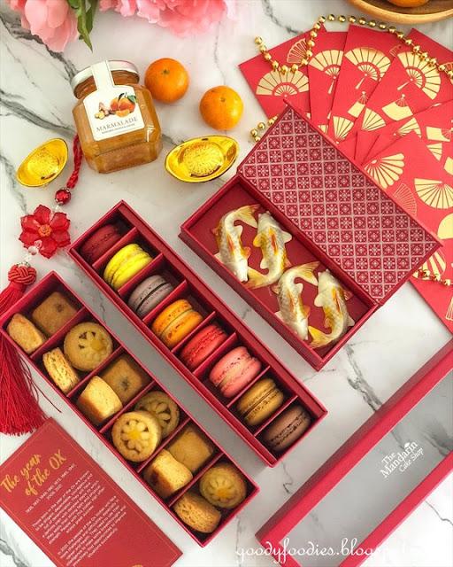 Mandarin Oriental KL CNY goodies