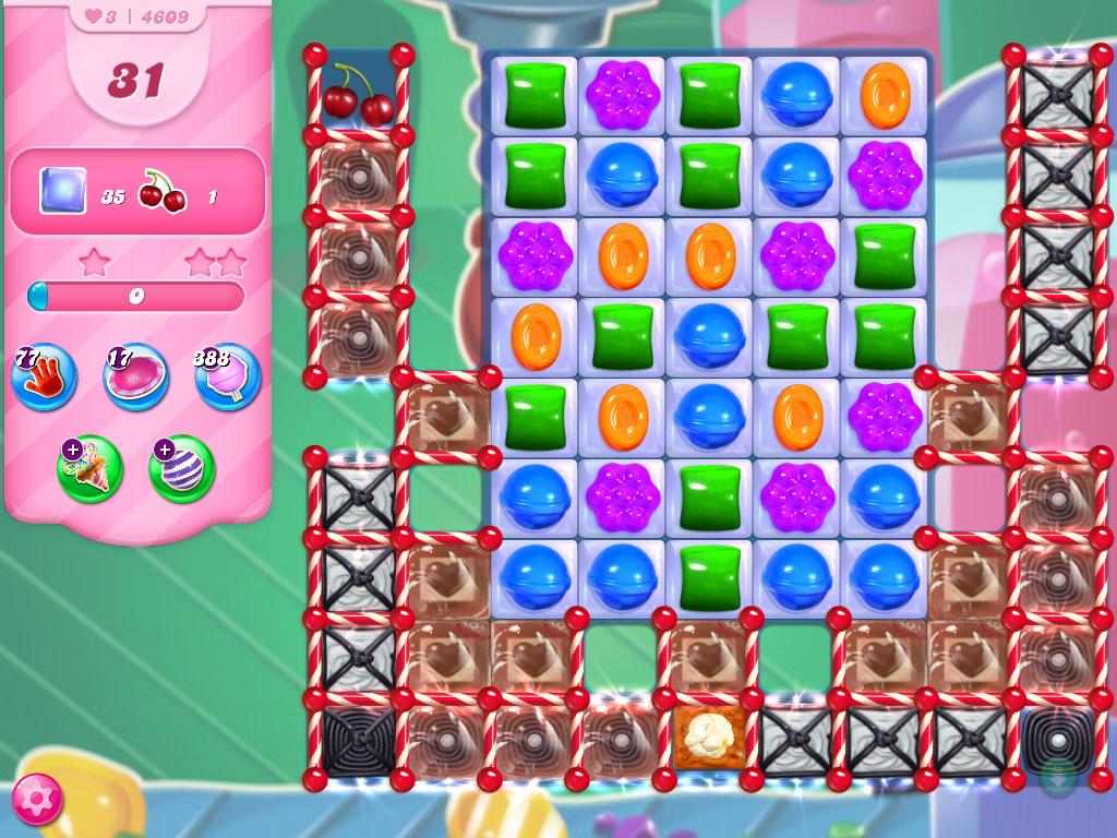 Candy Crush Saga level 4609
