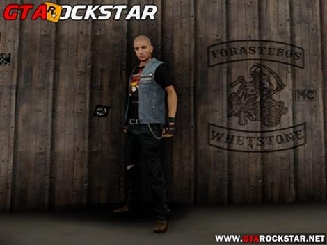 Pack de Skins de Forasteiros para GTA San Andreas Player Pack de skins em HD Pack de Skins de Forasteiros para GTA SA Modificações