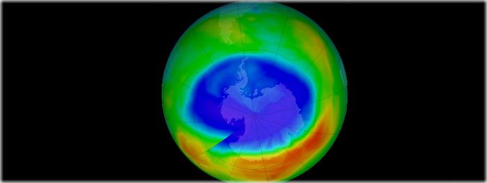 buraco na camada de ozonio atinge menor tamanho desde 1988