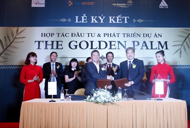 Lễ ký kết dự án The Golden Palm