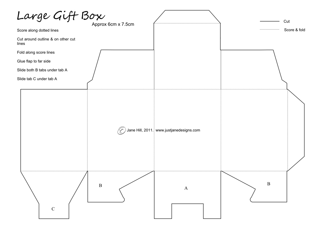 Just Jane Designs: Super little gift box template & teacher word art