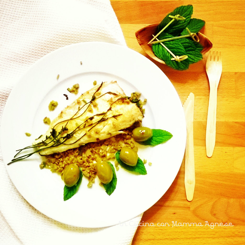 Disegno cucinare filetti di branzino : In Cucina con Mamma Agnese: Filetti di Branzino ai bruscandoli in ...