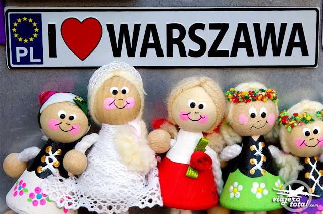 Souvenir de Varsovia, Polonia