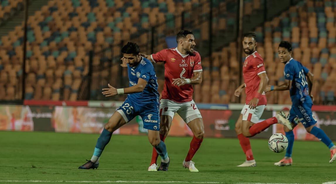 تقرير مباراة الأهلي ضد  أسوان الدوري المصري