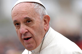 Pope Francis denounces climate change deniers