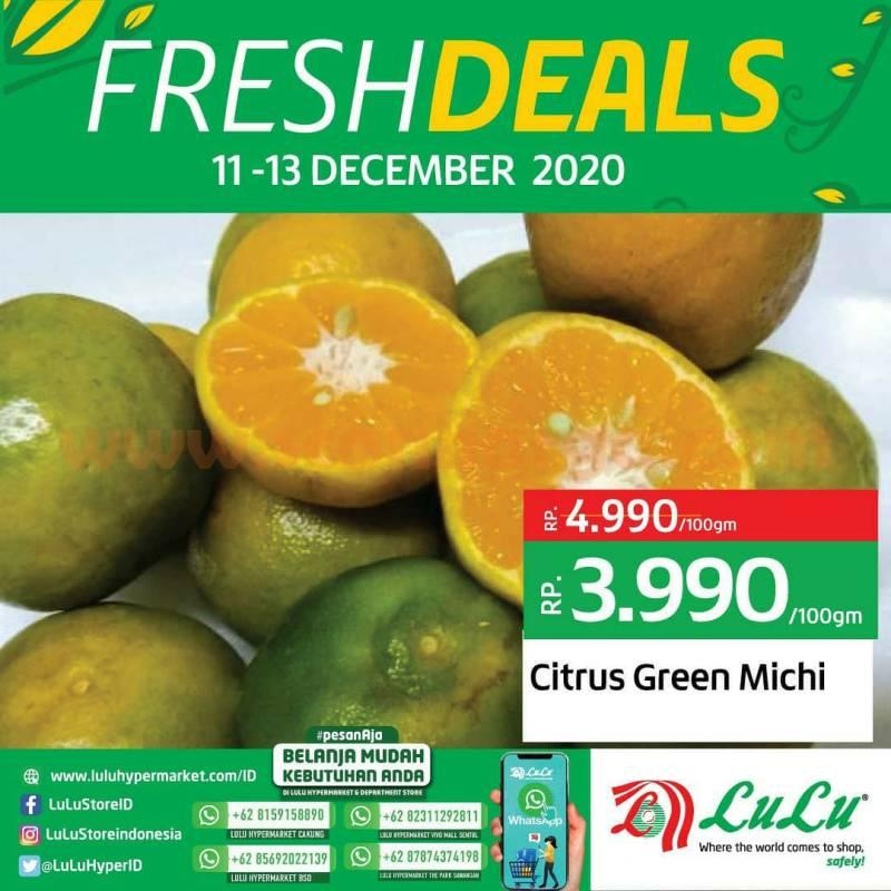 LULU Promo Fresh Deals - Diskon Hemat aneka Buah Segar*