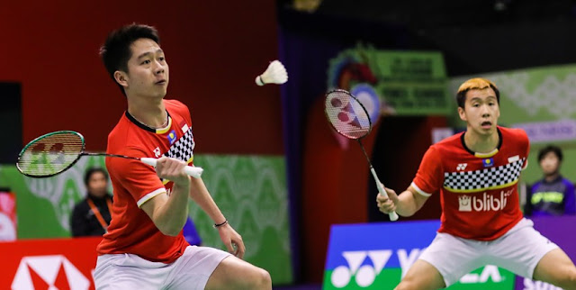 Jadwal Olimpiade Badminton Tokyo 2020 Besok Mempertandingkan The Minions Vs Lee/Wang