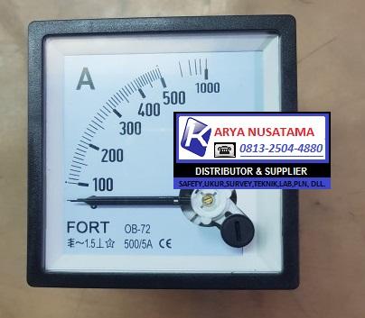 Jual Fort Volt Meter Analog 0 - 600/5 A di Medan
