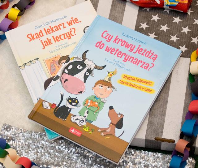 książka czy Krowy jeżdżą do weterynarza Dragon
