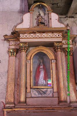 Virgin Mary, Baclayon Church, Bohol, Philippines