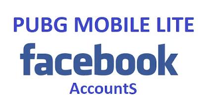 PUBG Mobile Lite account through Facebook