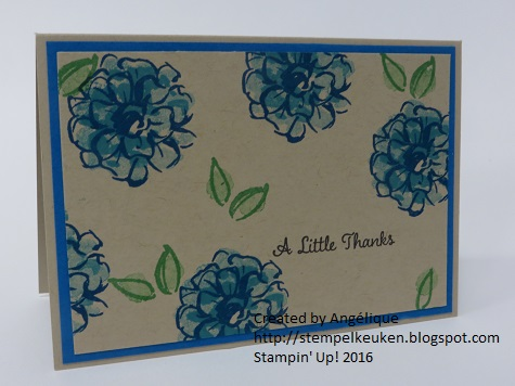 http://stempelkeuken.blogspot.com Sale-A-Bration, Sale-a-Bration 2016, SAB, Tempting Turquoise, Old Olive, Crumb Cake, Pacific Point
