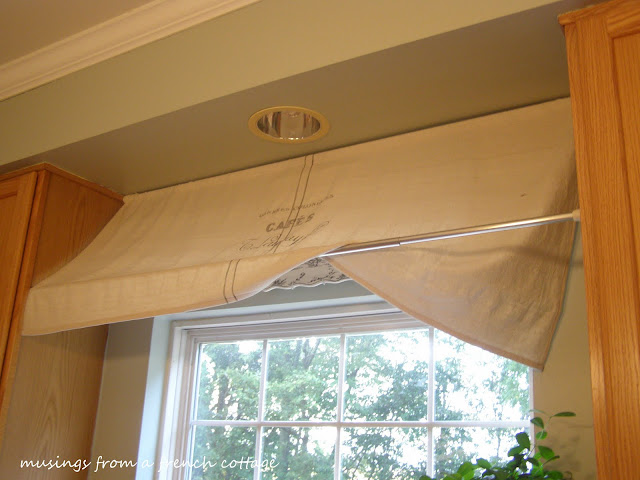 The Little French Farmhouse Window Awning Tutorial