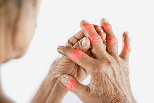 Finger joint pain causes