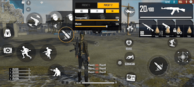 Custom HUD FF 4 Jari One Shot One Kill