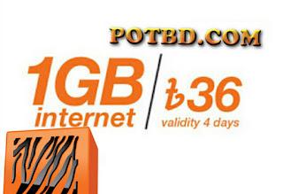 Banglalink 1gb 36tk internet offer 2019