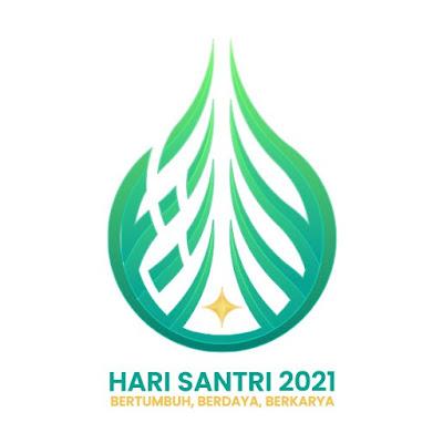 Logo Hari Santri Nasional 2021 JPG