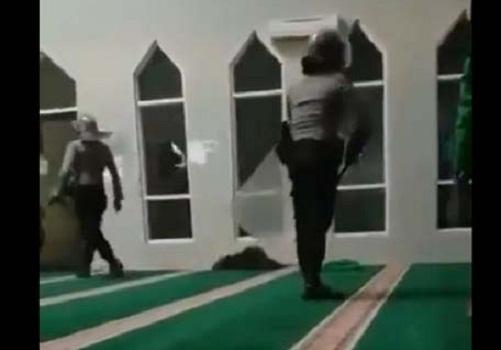 Klarifikasi Polda Susel Terkait Penangkapan Mahasiswa Di Dalam Masjid
