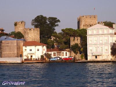 gita Bosforo Istanbul Fortezza Asia