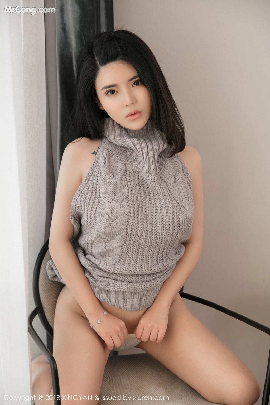 Image XingYan-Vol.012-Lily-MrCong.com-004 in post XingYan Vol.012: Người mẫu 陈曦Lily (51 ảnh)