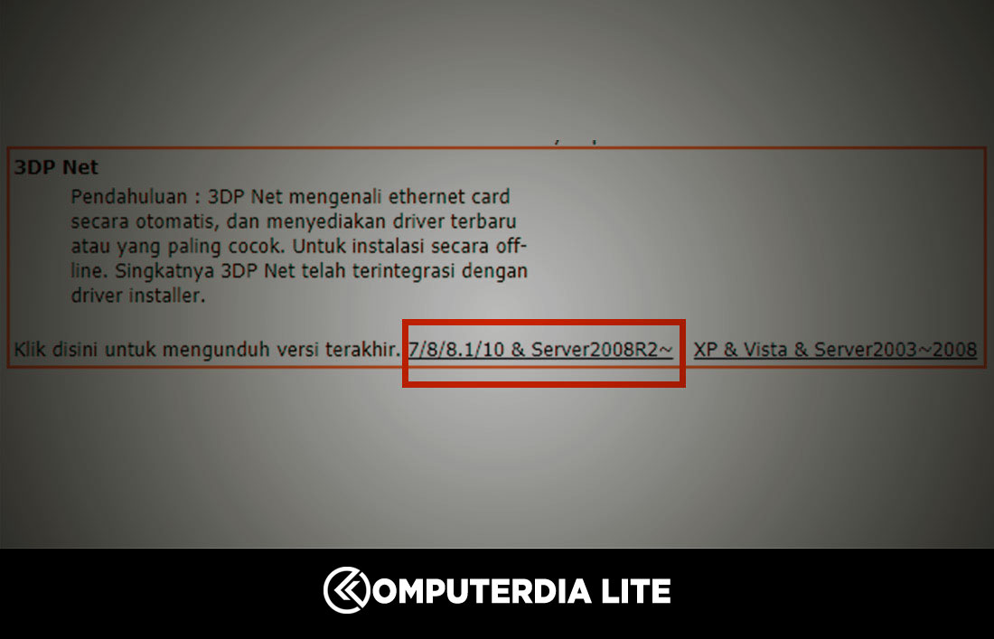 Cara Install Driver Wifi Laptop dan Komputer Dengan Mudah Windows 7/8/10