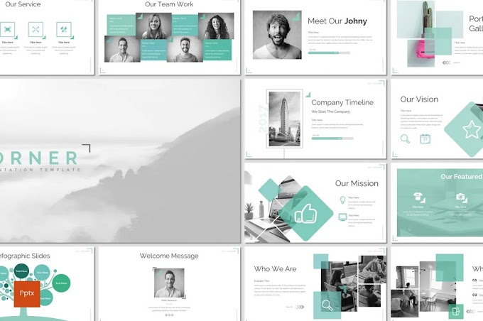 Corner - Powerpoint Template Free Download