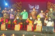 Bupati Lampung Utara Membuka Acara Cangget Bara Festival ke-2 dan Kotabumi Art Festival ke-4 tahun 2021