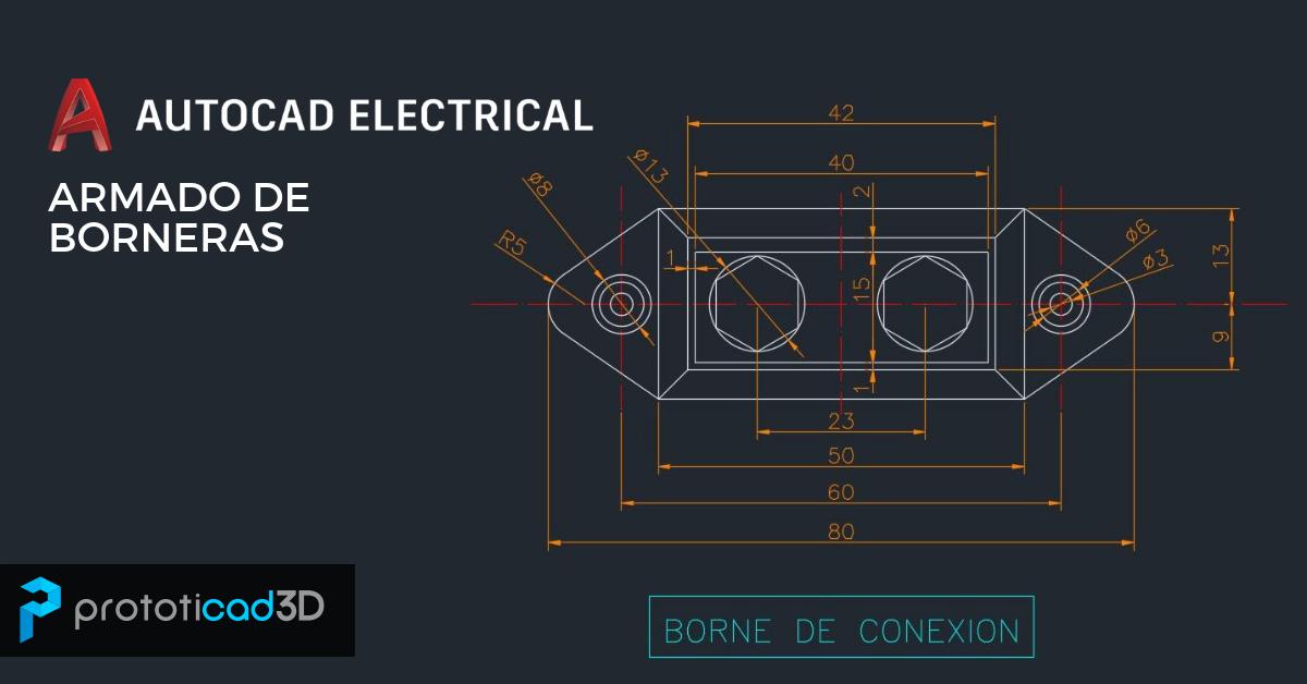 Armado de borneras en AutoCAD Electrical