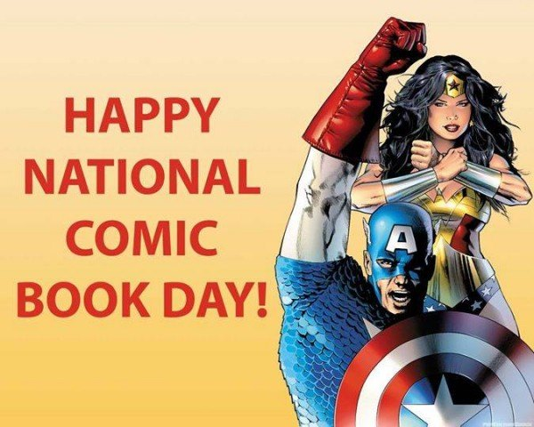 National Comic Book Day Wishes pics free download