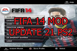 FIFA 14 Mod Update 21 PS2 ISO