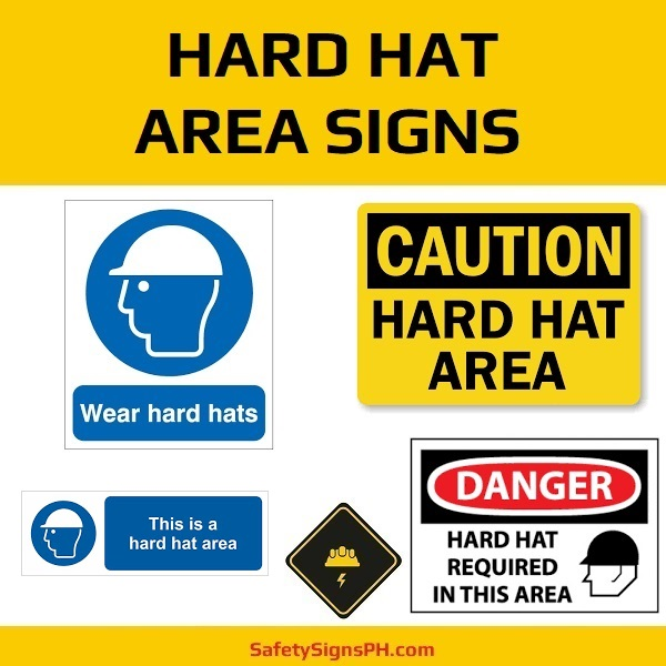 Hard Hat Area Signs Philippines