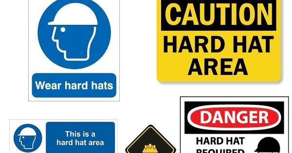 Hard Hat Area Signs Safetysignsph Com Philippines