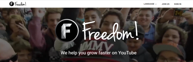 2. Freedom! - YouTube Partnership Network