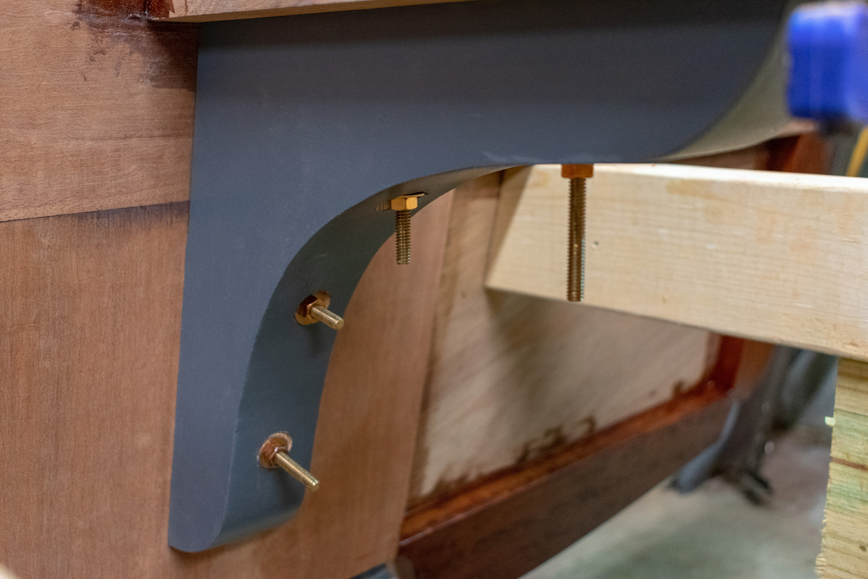 Michael's Boatbuilding Blog: Keel, End-to-End