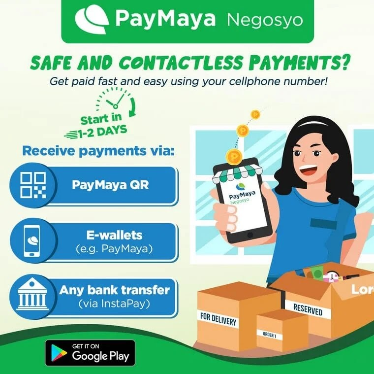 PayMaya Enables Online Payments for MSMEs Through 'Negosyo' App