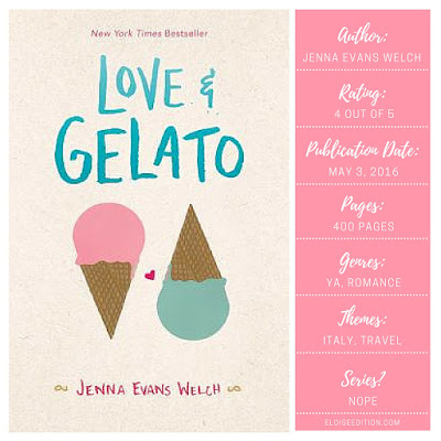 Love and Gelato on Eloise Edition