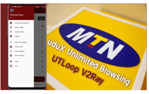 MTN Free Browing with uduX Browsing Settings For V2Ray by UTLoop (April 2021)