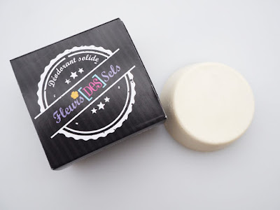 Déodorant solide, savonnerie artisanale, jura, vriange, made in jura, fleurs des sels