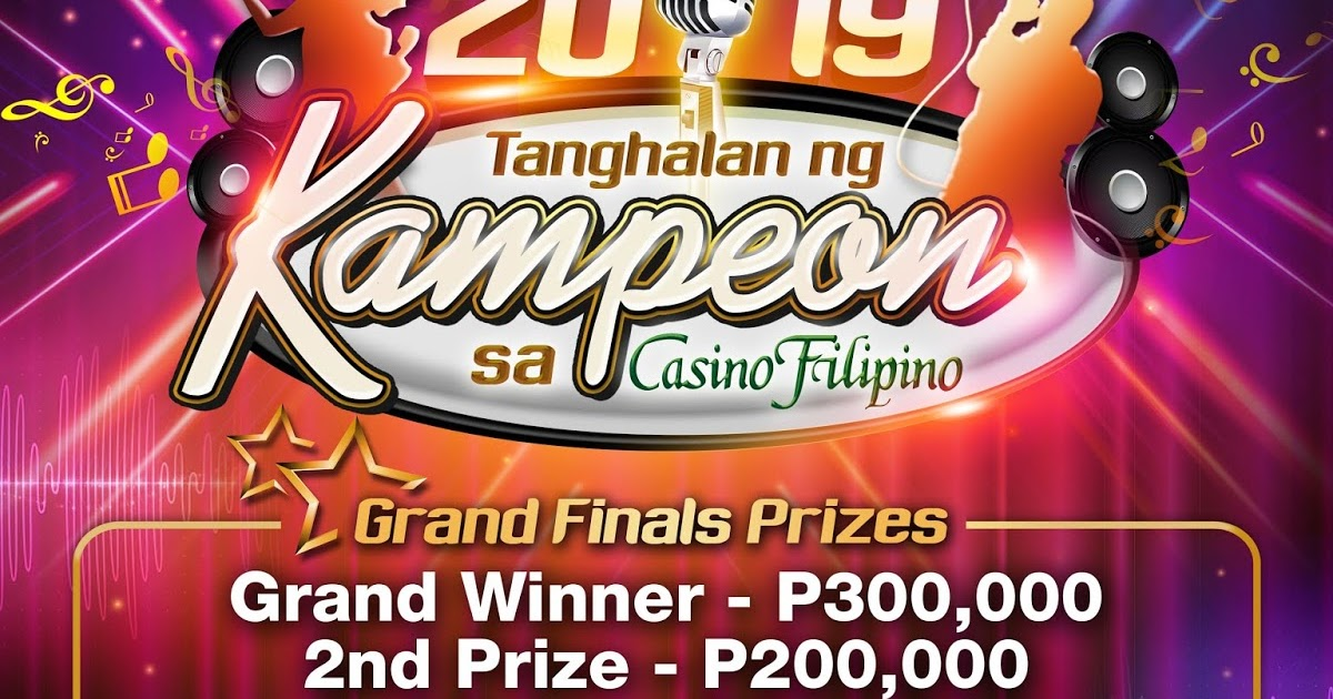 Casino Filipino to hold 'Tanghalan ng Kampeon' nationwide singing