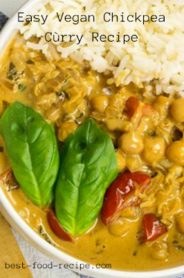Easy Vegan Chickpea Cùrry Recipe