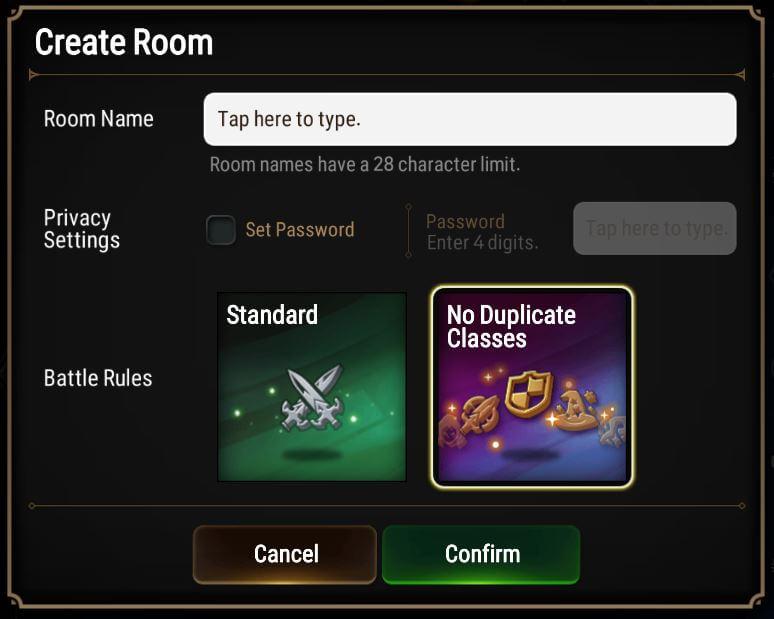 No Duplicate Classes mode