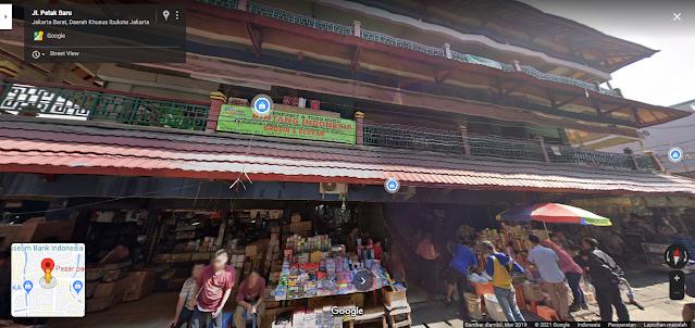Proyek Pasar Pagi Lama, Pusat Kulakan ATK di Jakarta